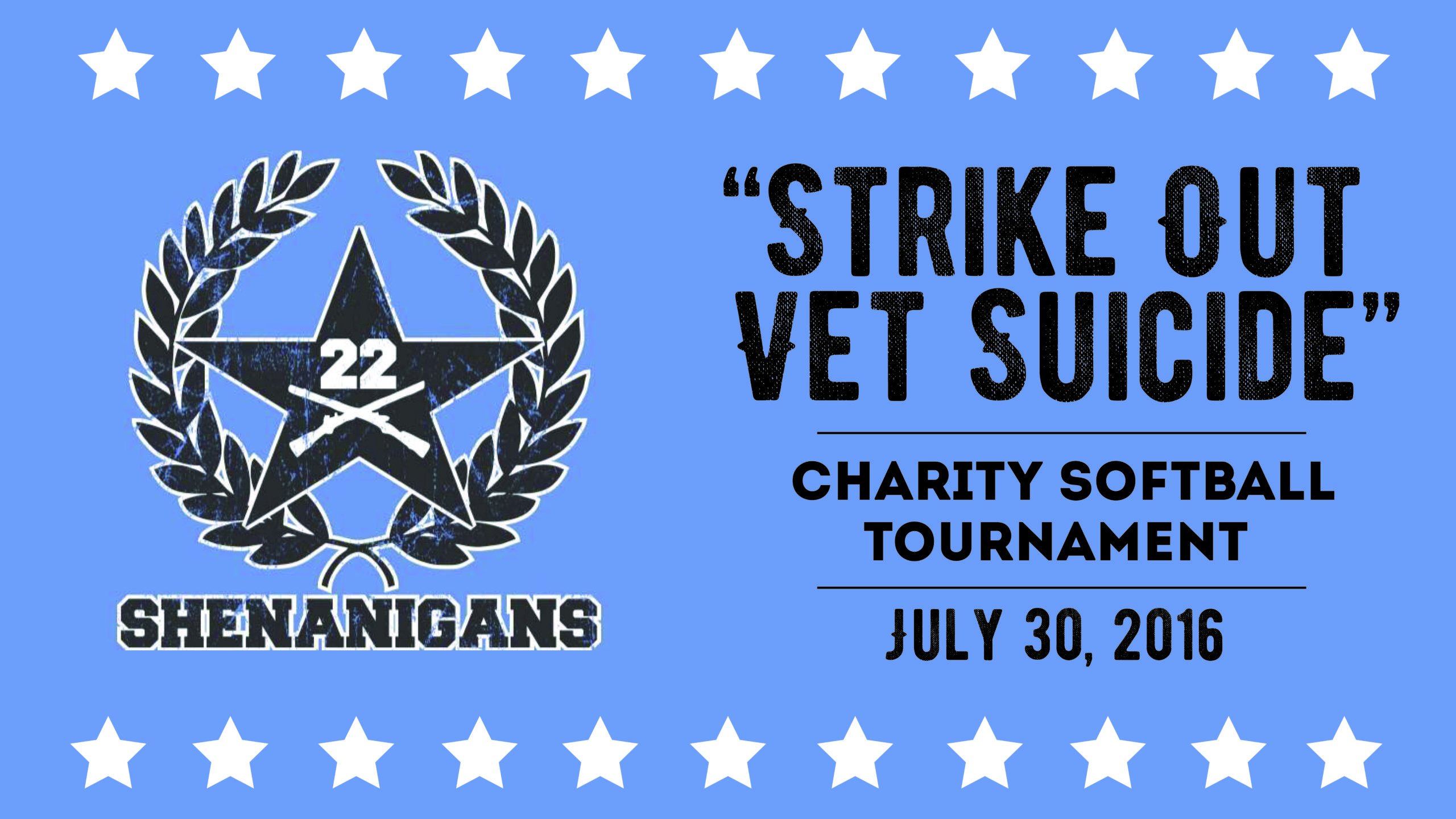 """""""STRIKE OUT VET SUICIDE"""" Charity Softball Tournament"""